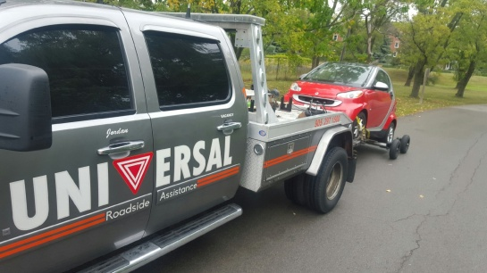 Tow Truck Universal Roadside Assistance